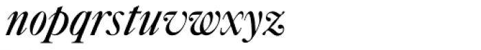 Caslon #540 Std Italic & Swashes Font LOWERCASE