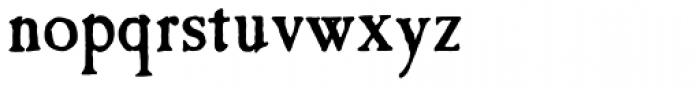 Caslon Antique MN Font LOWERCASE