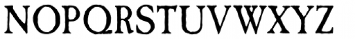 Caslon Antique Pro Font UPPERCASE