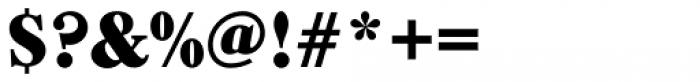 Caslon Black Regular Font OTHER CHARS