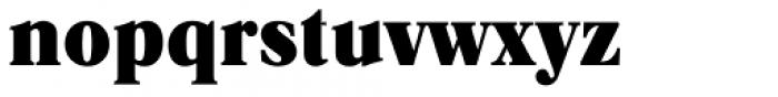 Caslon Black Regular Font LOWERCASE