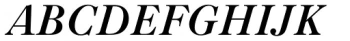 Caslon Bold Italic Font UPPERCASE