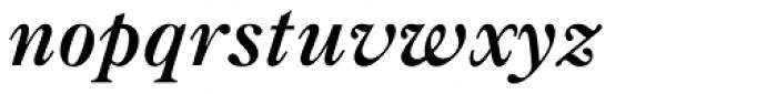 Caslon Bold Italic Font LOWERCASE