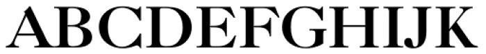 Caslon Bold Font UPPERCASE