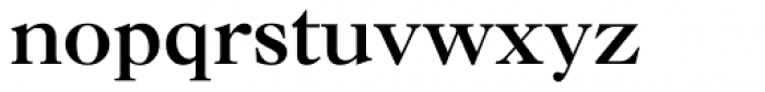 Caslon Bold Font LOWERCASE