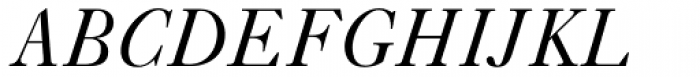 Caslon FiveForty Italic Font UPPERCASE