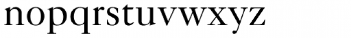Caslon FiveForty Roman Font LOWERCASE