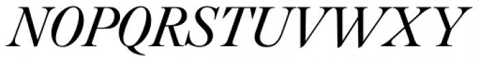 Caslon FourSeventyone BQ Italic Font UPPERCASE