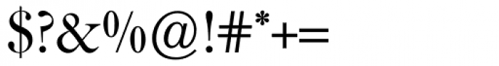 Caslon FourSeventyone BQ Regular Font OTHER CHARS