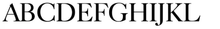Caslon FourSeventyone BQ Regular Font UPPERCASE