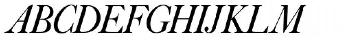 Caslon No 540 D Italic Font UPPERCASE