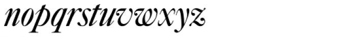 Caslon No 540 D Italic Font LOWERCASE