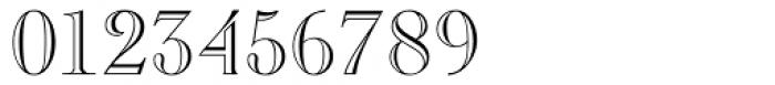 Caslon Open Face Regular Font OTHER CHARS