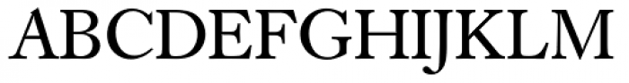 Caslon SB Regular Font UPPERCASE