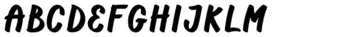 Casper Marker Regular Font UPPERCASE