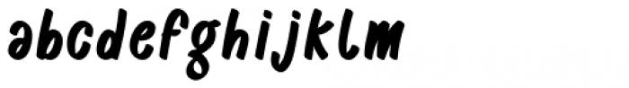 Casper Marker Regular Font LOWERCASE