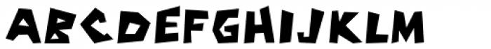 Cassjor Font UPPERCASE