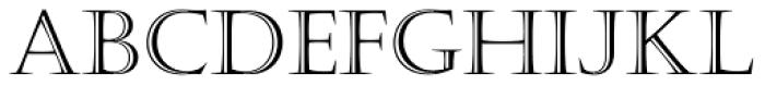 Castellar Std Roman Font UPPERCASE