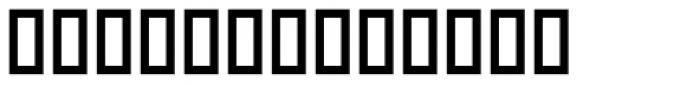Castile Bold Font UPPERCASE