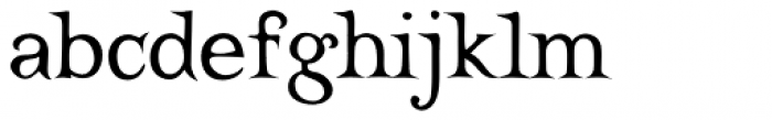 Castine Font LOWERCASE