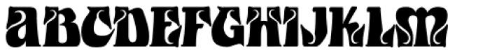 Castle Squat Font UPPERCASE