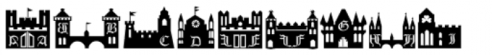 Castles&Shields Font UPPERCASE