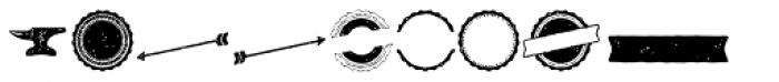 Castor Ornaments Font UPPERCASE