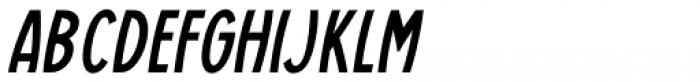 Casual Deco JNL Oblique Font UPPERCASE