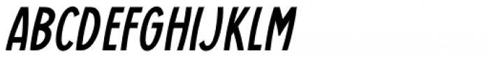 Casual Deco JNL Oblique Font LOWERCASE