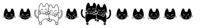 Cat Cat Cat D Font OTHER CHARS