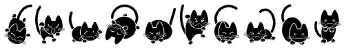 Cat Cat Cat D Font UPPERCASE