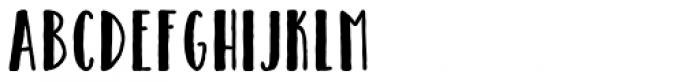 Catalina Avalon Sans Bold Font UPPERCASE