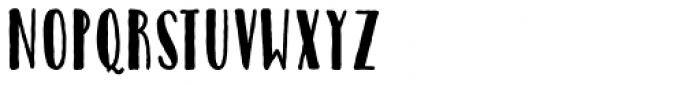 Catalina Avalon Sans Bold Font LOWERCASE