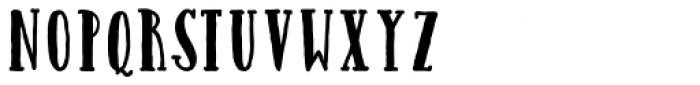 Catalina Avalon Slab Bold Font UPPERCASE
