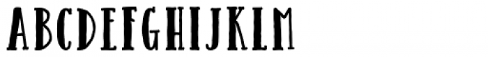 Catalina Avalon Slab Bold Font LOWERCASE