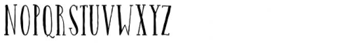 Catalina Avalon Slab Light Font UPPERCASE