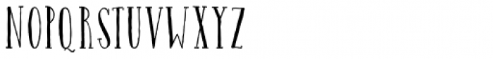 Catalina Avalon Slab Light Font LOWERCASE