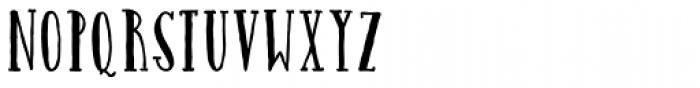 Catalina Avalon Slab Font UPPERCASE
