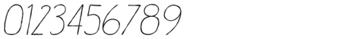 Catalina Script Light Italic Font OTHER CHARS