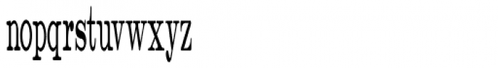 Catalog Serif Compressed JNL Font LOWERCASE