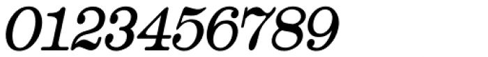 Catalog Serif Condensed Oblique JNL Font OTHER CHARS