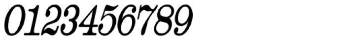 Catalog Serif Extra Condensed Oblique JNL Font OTHER CHARS