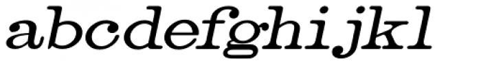 Catalog Serif Oblique JNL Font LOWERCASE