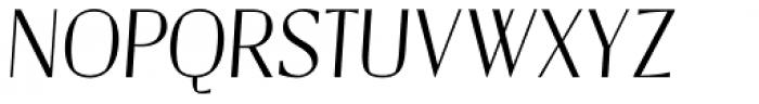 Catalyst Light Display Italic Font UPPERCASE