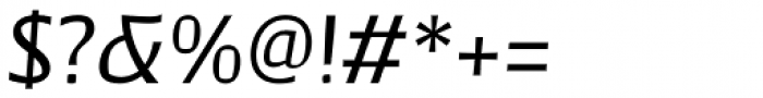 Catalyst Medium Italic Font OTHER CHARS