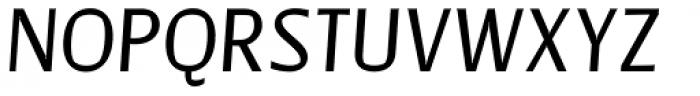 Catalyst Medium Italic Font UPPERCASE