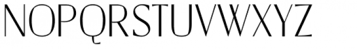 Catalyst Thin Display Font UPPERCASE