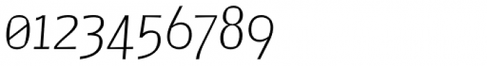 Catalyst Thin Italic Font OTHER CHARS