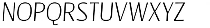 Catalyst Thin Italic Font UPPERCASE