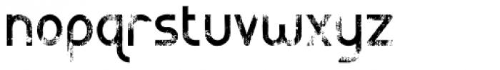 Catenary Guerrilla Font LOWERCASE
